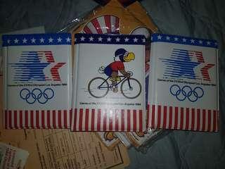 Vintage deadstock Olympic 1984 photo album