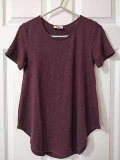 Purple T-Shirt/Wilfred Free