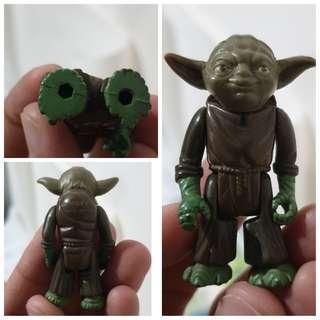Vintage Yoda Star Wars 1980 LFL Hong Kong (No Accessories)