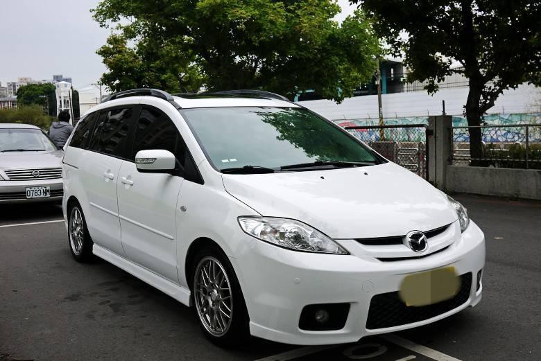 06 Mazda5 2.0 7人座  白帥帥