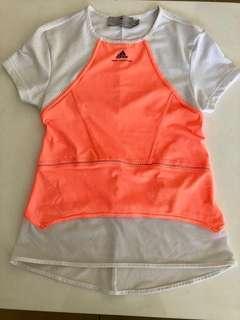 Adidas Stella Mccartney Workout Gym Tshirt.