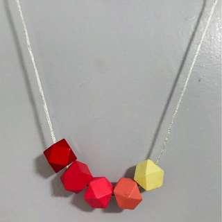 💍Geometrical Candy Necklace