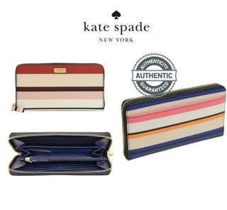 1959e6fc0b0c0 Kate Spade New York Laurel Way Neda Saffiano Leather Zip Around Wallet