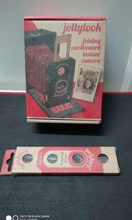 jollylook 紙盒 全手動 即影即有 相機 連濾鏡