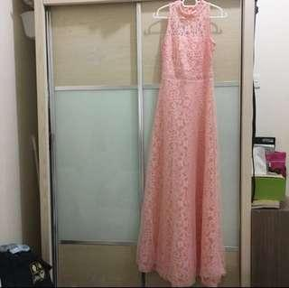 #MakeSpaceForLove Lace Long Elegant Sexy Dinner Dress