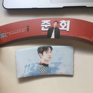 🚚 WTT CUPSLEEVES (ikon june + exo chanyeol)