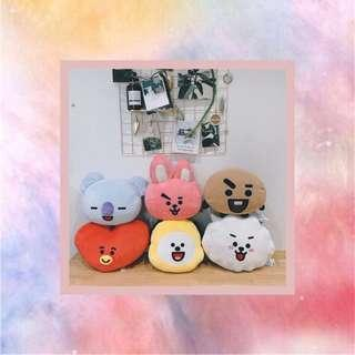 BT21 smiling cushion