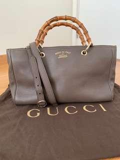 🚚 🔥 sale!! Gucci bamboo shopper bag