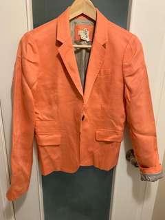 J Crew Blazer - Linen Suiting, Size 2