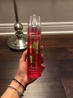 Bath and body sun ripened raspberry body spray