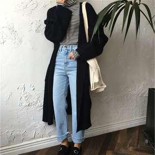 🚚 black long sweater