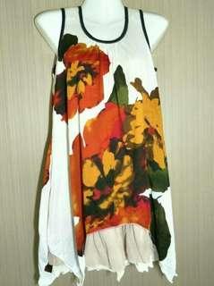 Big Floral Soft Dress