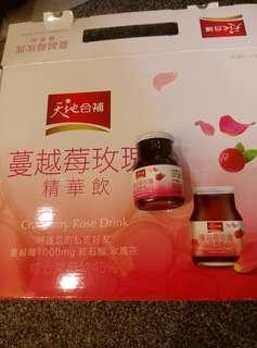 🚚 桂格蔓越莓玫瑰飲