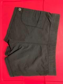 Black Lululemon Shorts with Pockets, Size 2/4