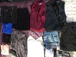 BULK CLOTHES & HEELS