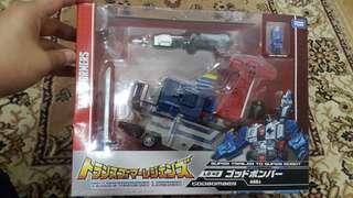 Transformers Godbomber Takara Tomy