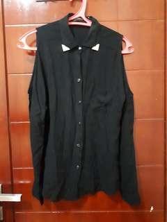 Luna Maya for Hardware Black Shirt