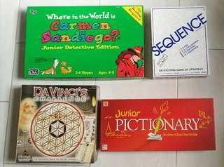 Pictionary Junior Board Game (Mattel)