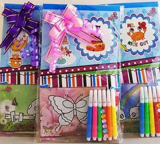 Goodie bag, goody bag, colouring bag, water art, toddler