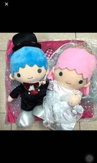 Little Twin Stars 結婚 公仔