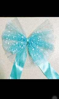 Tiffany Blue 結婚 花車 蝴蝶 佈置