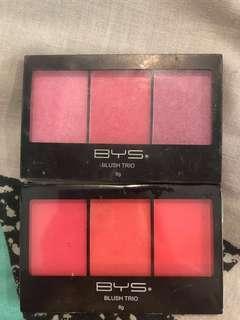 TWO Blush trio palettes #APR10