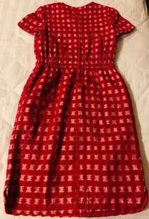 🚚 Cut Label Marc Jacob Red Office Dress