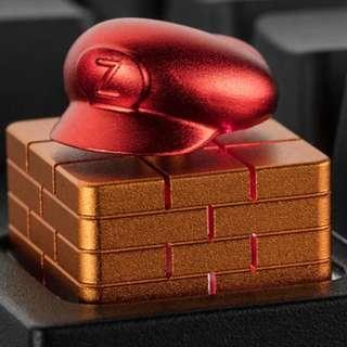 Super Mario Aluminum Artisan Keycap