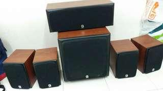 Q acoustic a1010 s England hi end speakers
