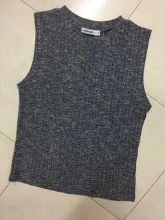 #APR10 Knitted sleeveless top