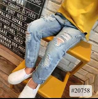 Tattered Jeans for Kids
