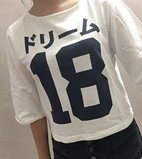 #APR10 White long sleeve top