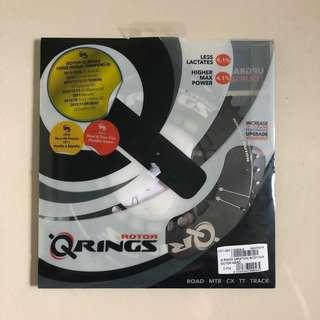 Rotor Q Rings Oval Chainrings 110BCD 50-34