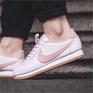 🚚 Nike阿甘鞋 全新珍珠粉蛇紋 (含鞋盒)