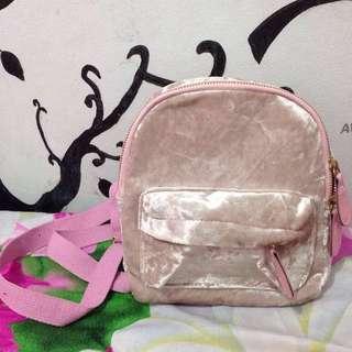 Mini Backpack velvet