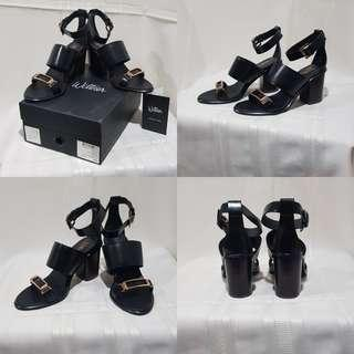 Foo Sandal Black High Shine LTH