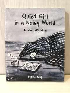 Quiet Girl In A Noisy World: An Introvert's Story - Debbie Tung (RRP: RM72.80)