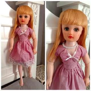 "1950s Vinatge Doll 20"""