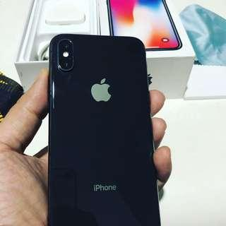 iPhone X 256 GB Like New Masih Garansi Inter Fullset