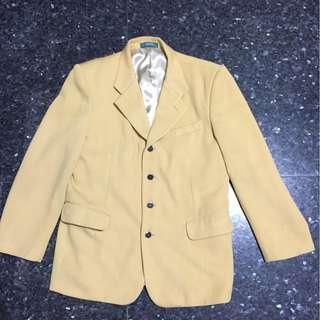 稀有顏色西裝外套