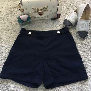 Knitted High Waisted Shorts