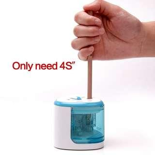 School automatic electric pensil sharpener battery operated