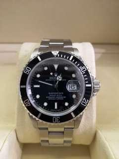 Rolex Submariner Black 16610LN 40mm Automatic