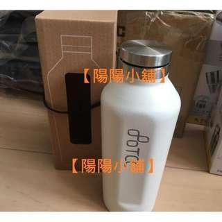 【陽陽小舖】《股東會紀念品》台泥 中橡 不鏽鋼美形保溫瓶 304不鏽鋼保溫杯(白)