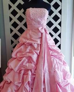 Pink Gown Pre Sweet