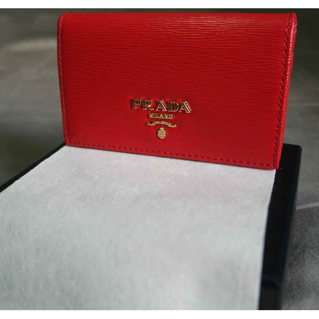 6168ad57db18b7 100% Authentic brand new PRADA coin pouch, Luxury, Bags & Wallets ...
