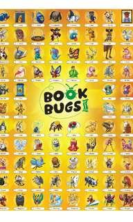National libary (NLB) BOOK BUGS CARDS SPARE FOR SALE ONLY.