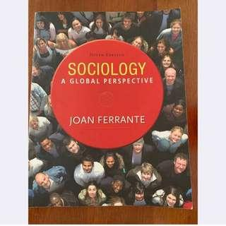 SC1101 Sociology A Global Perspective by Joan Ferrante