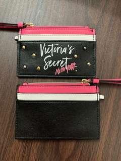 Victoria's secret card holder 卡片套(沒金扣)