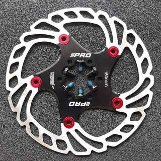 Brand new 160mm IIIPRO Floating Disc Rotor